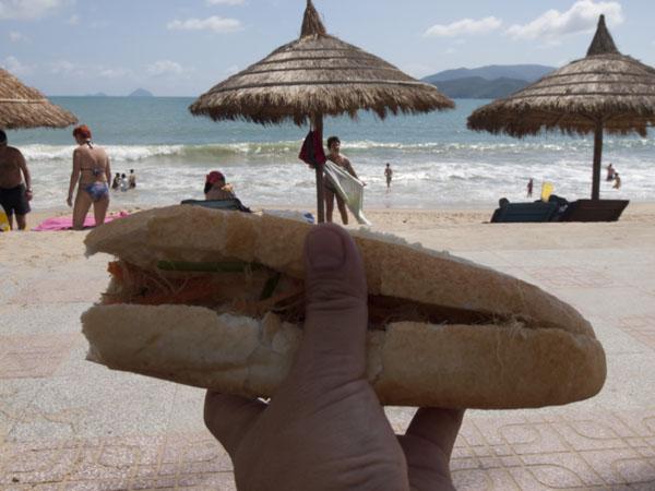 ベトナムのサンドイッチ「バイン・ミー」