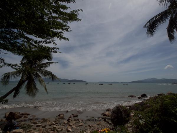 ニャチャンの海。