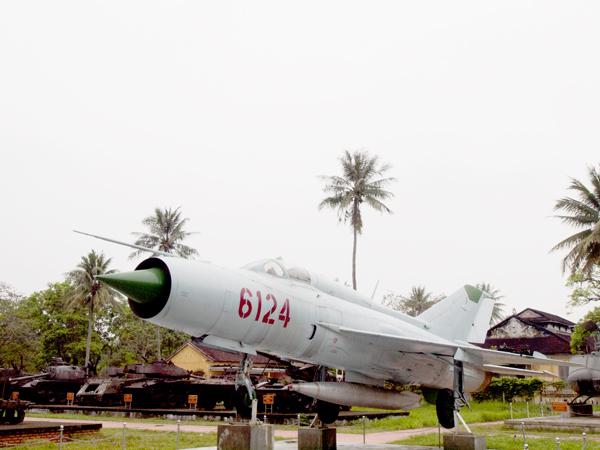 ソ連の戦闘機MiG-21。