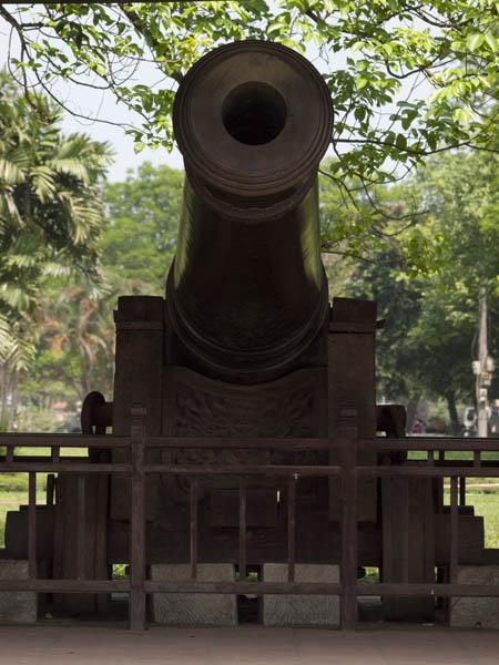 大砲を見たり、