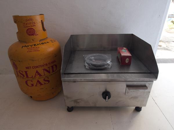 このガスレンジというか、ガス台で、ビジネスを始めるようです。