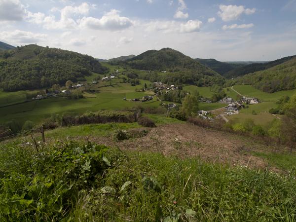 フランスの田園。