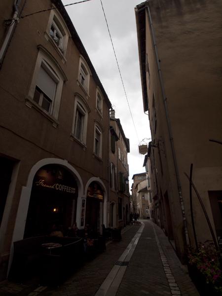 Cahorsの旧市街。