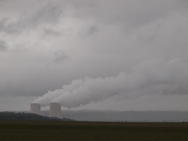 昨日に引き続き、雲製造機。
