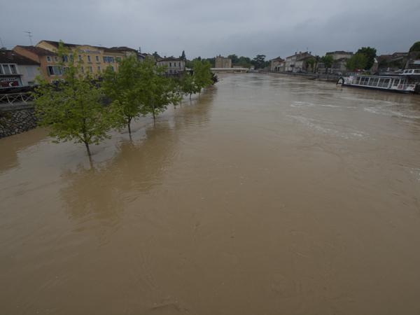 川は倍に膨らんでます。たぶんね、元は知らんけど。