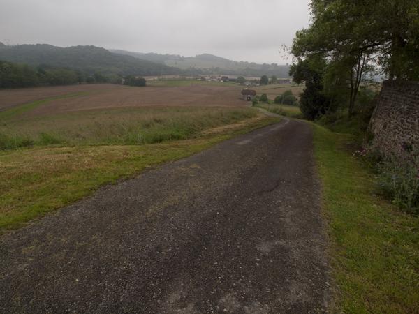 最近、こんな景色が多いです。のどかです。雨が降らなきゃ最高なんだけど。