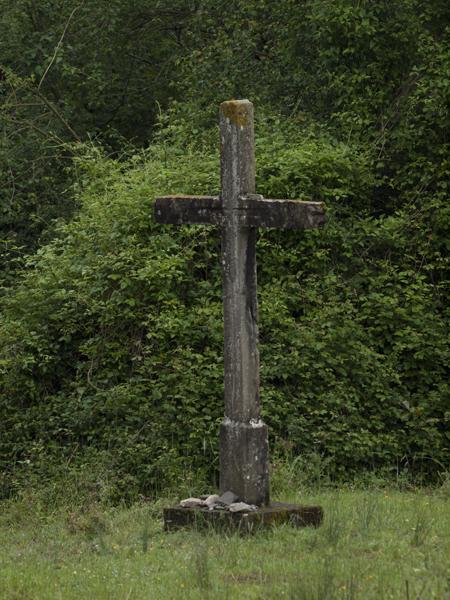 緑の十字架。