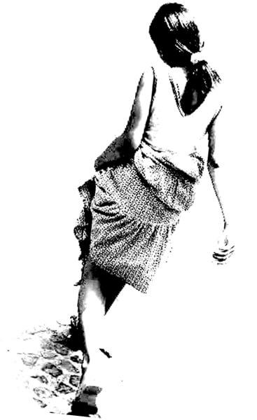 モチーフの写真。2006年にパナマで撮影したものです。