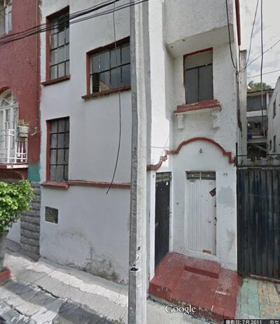 これが、バロウズの元家。Google Mapから、ひっぱってきた。