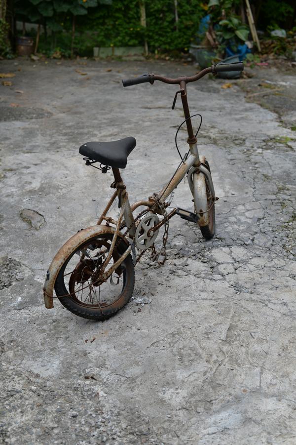 近所の素敵な自転車。