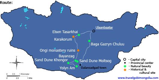 destine-to-sand-dunes-tour-map