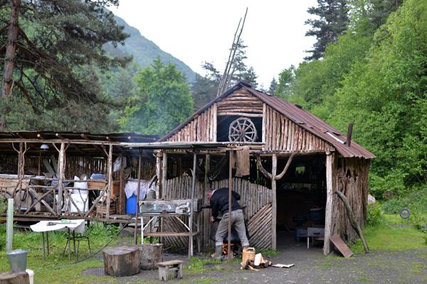 Korsha村まで引き返し、GuestHouseで一泊。