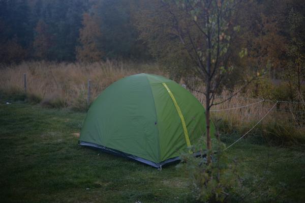 寒いだろうね〜、テント泊の935ちゃん。